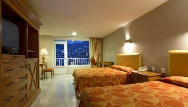 Chambre double Hôtel Krystal Beach Acapulco Acapulco