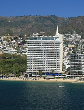 Façade Hôtel Krystal Beach Acapulco Acapulco