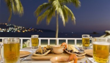 Restaurant Bahía Hôtel Krystal Beach Acapulco Acapulco